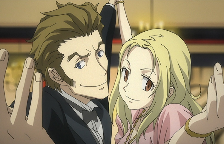 Miria & Isaac from Baccano! anime