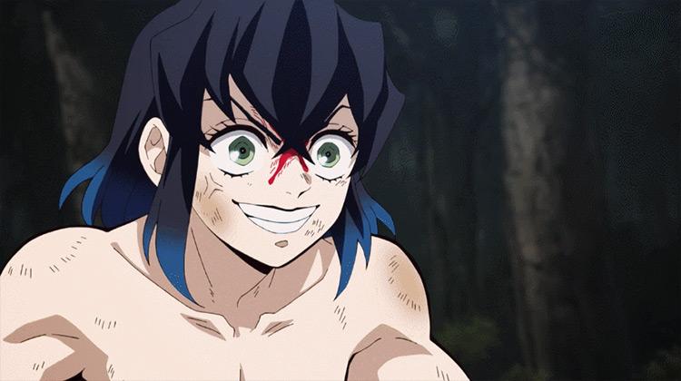 Inosuke from Demon Slayer anime