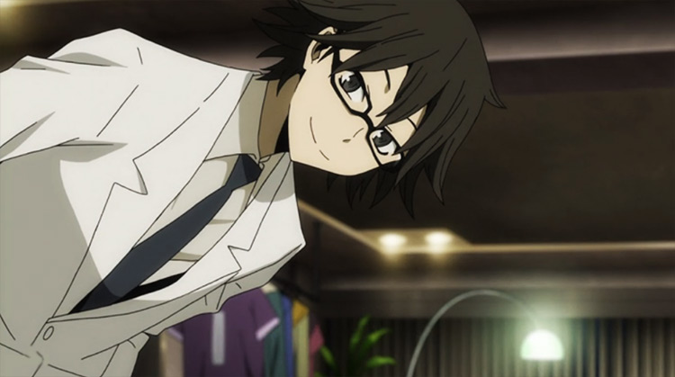 Shinra from Durarara!! anime