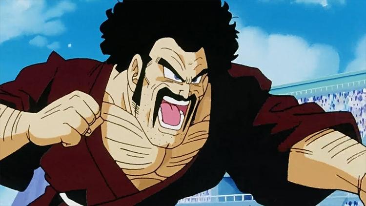 Mr. Satan Dragon Ball Z anime screenshot