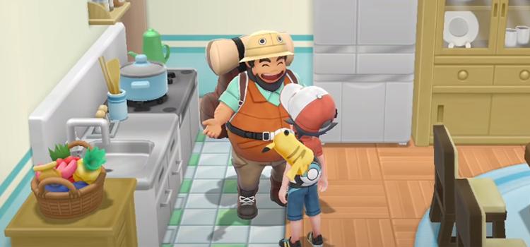 Pokemon Lets Go Pikachu - Hiker NPCs House