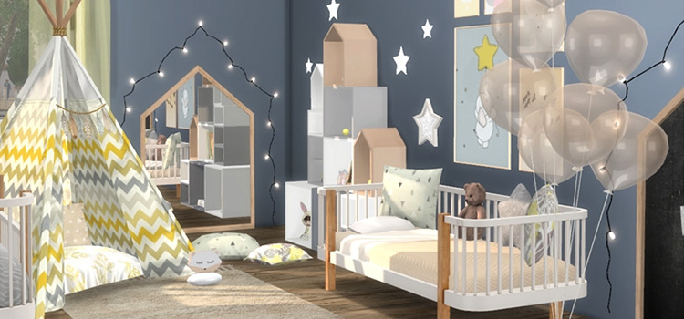 Baby Crib Cc Mods For The Sims 4 All Free To Download Fandomspot