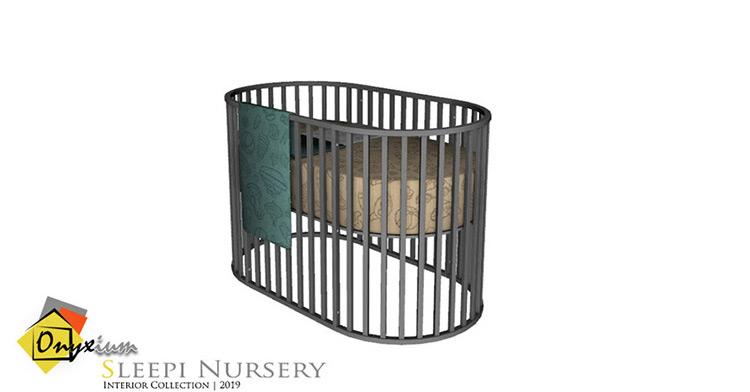 Sleepi Crib Sims 4 Mod