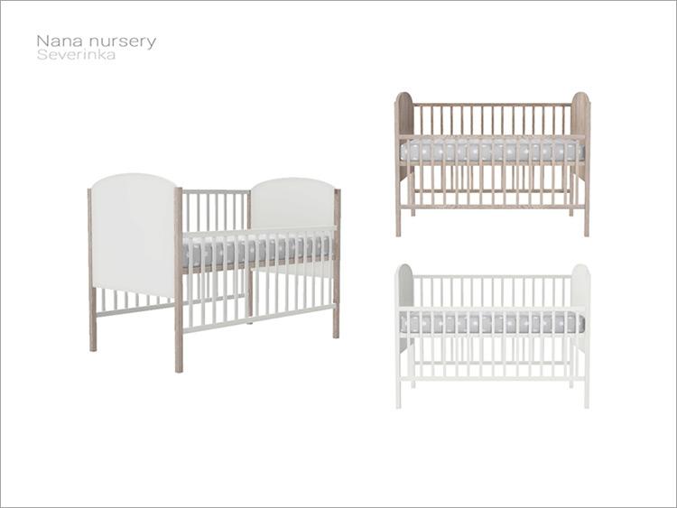 Nana Nursery Baby Crib Sims 4 Mod screenshot