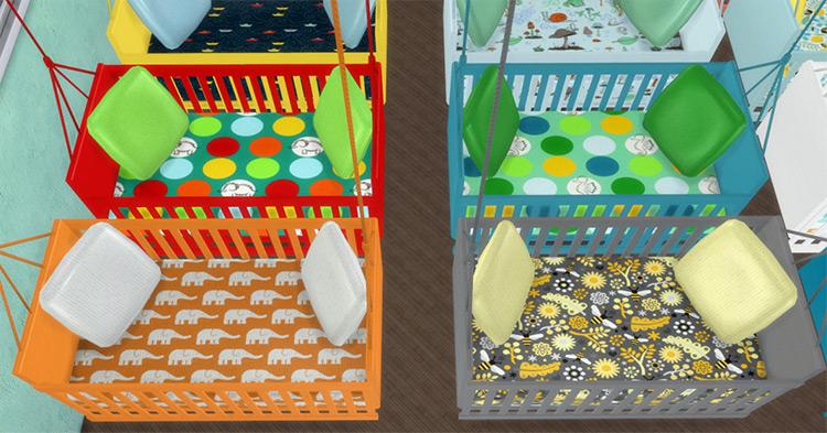 Different Hanging Cribs Sims 4 Mod screenshot