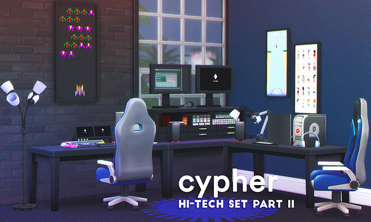 Cypher Hi-Tech Set (Part 2) TS4 CC