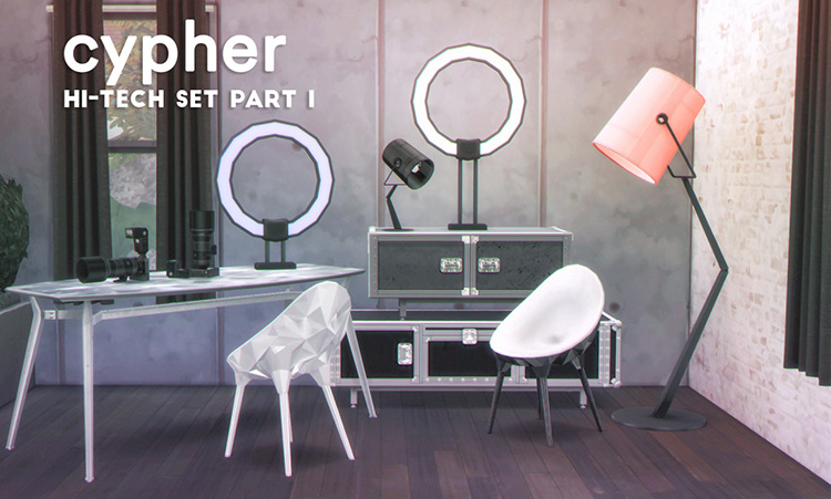Cypher Hi-Tech Set (Part 1) TS4 CC