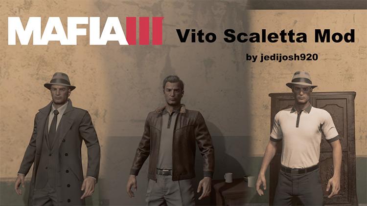 Vito Scaletta Mafia 3 Mod title