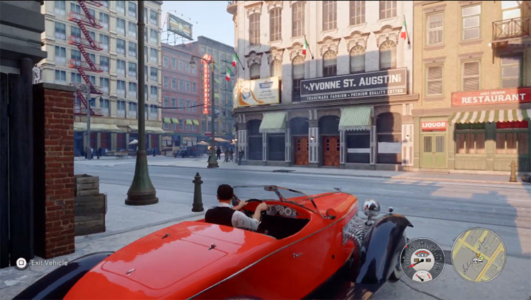 Manual Transmission Mafia 3 gameplay screenshot