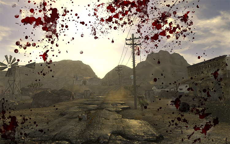 Enhanced Blood Textures FNV preview