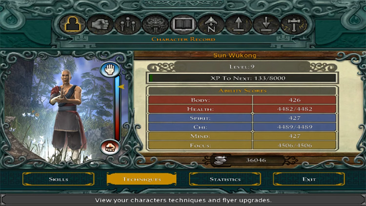 Celestial Master Difficulty JE Mod character Menu
