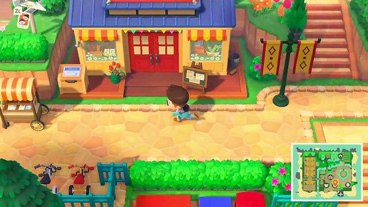 Cliffside Paradise ACNH Mod gameplay screenshot