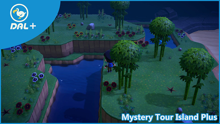 Mystery Tour Island+ Animal Crossing: New Horizons Mod title