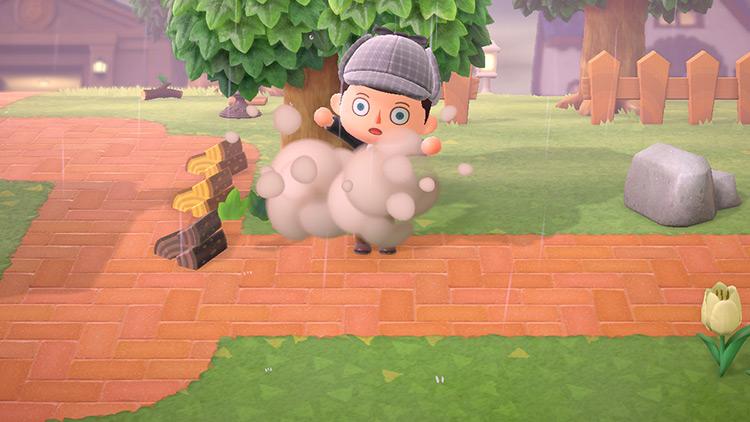 Unbreakable (golden) Tools Animal Crossing: New Horizons Mod