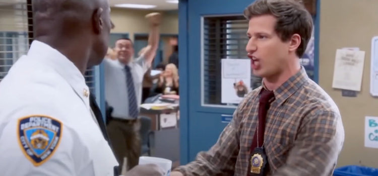 100+ Brooklyn Nine-Nine Memes That Prove The Talking Dog Flies In Outer Space