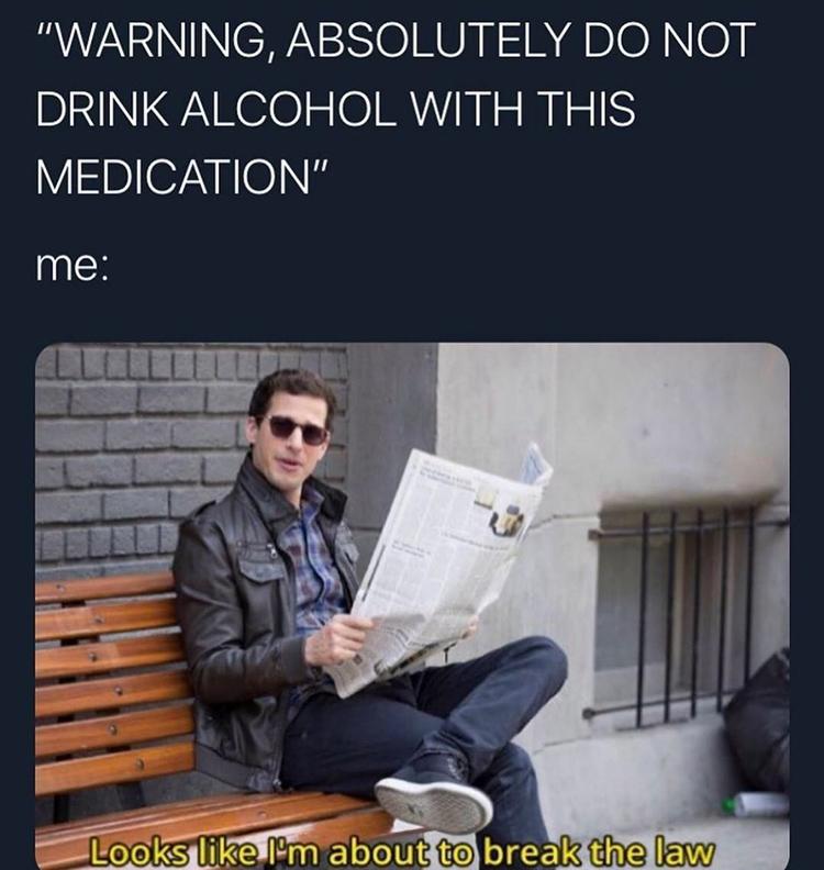 Peralta newspaper meme
