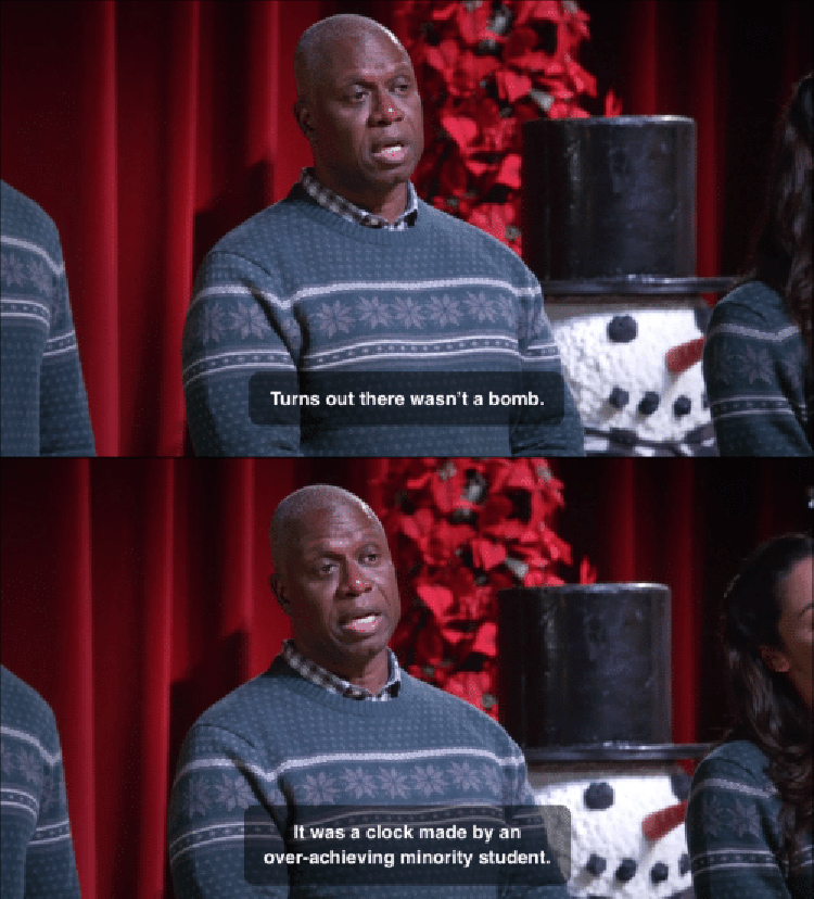 B99 Holt cancelling christmas song
