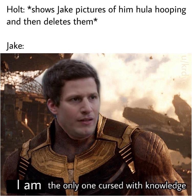 Peralta cursed knowledge meme