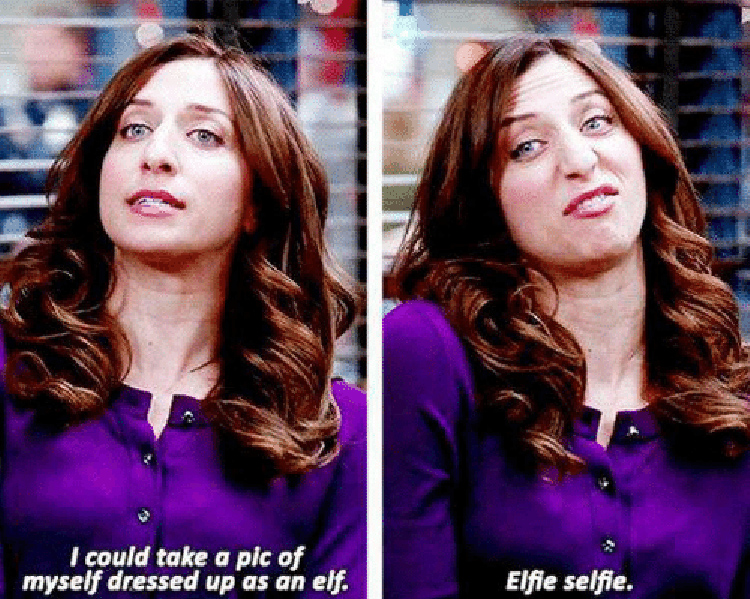 Gina Elfie Selfie meme