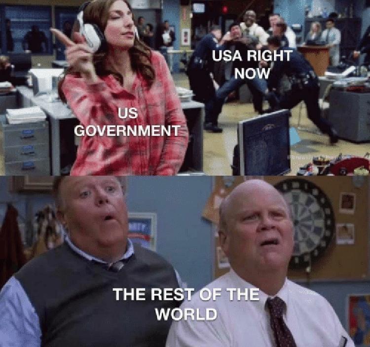 US gov't ignoring fire