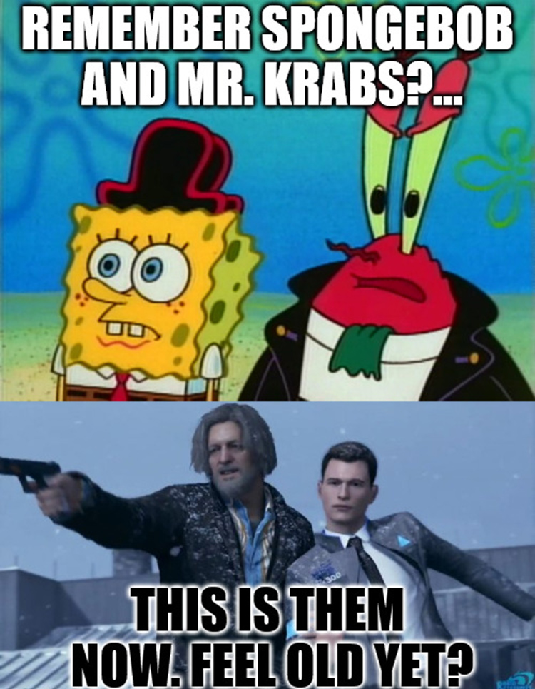 Mr Krabs remember these guys?