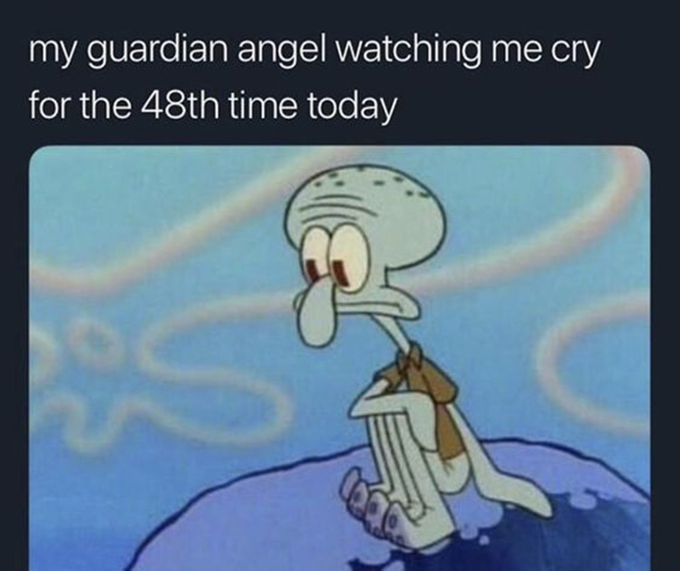 My guardian angel watching over me