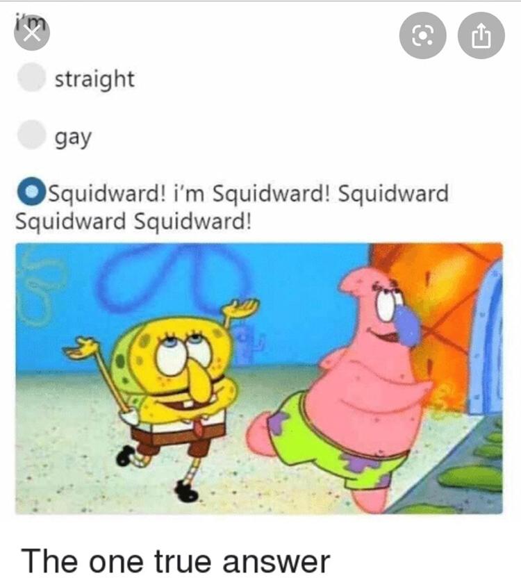 Im squidward meme