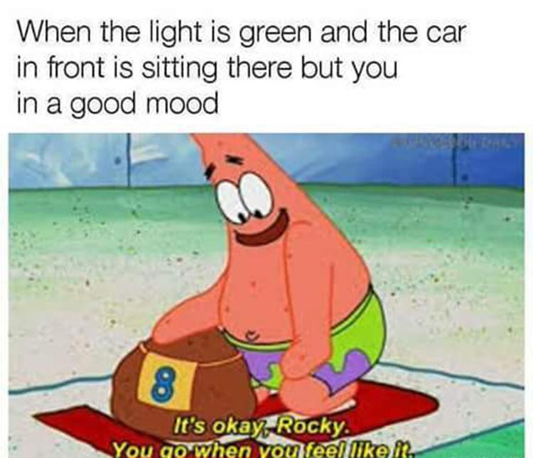 Patrick patient rocky meme