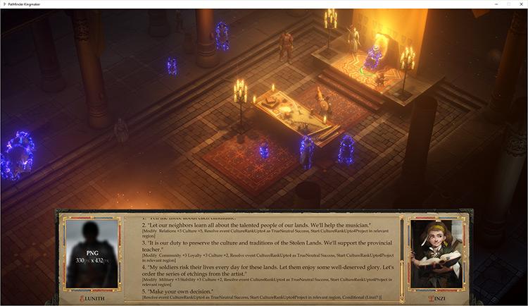 Kingdom Resolution Pathfinder: Kingmaker mod screenshot