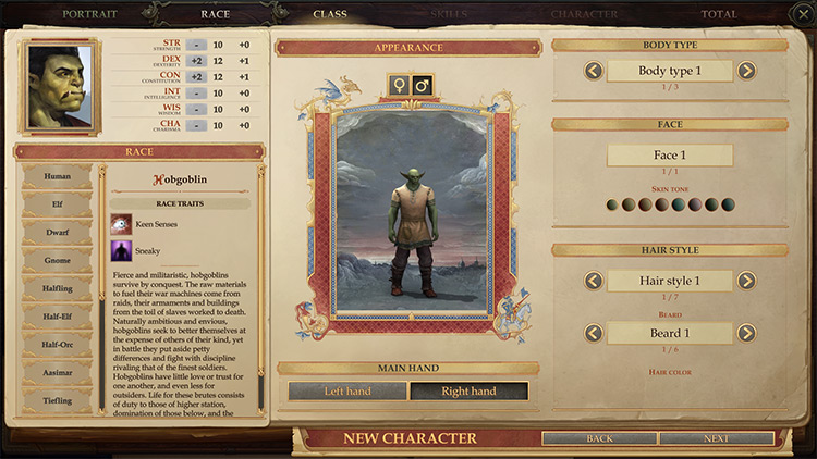 Races Unleashed Pathfinder: Kingmaker mod