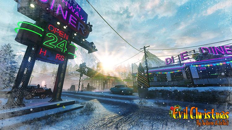 Evil Christmas Call of Duty: Black Ops III mod screenshot