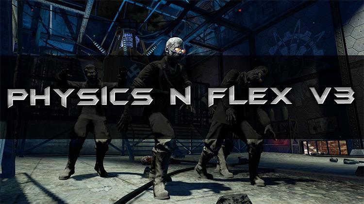 Physics 'N' Flex MOD MENU Call of Duty: Black Ops III