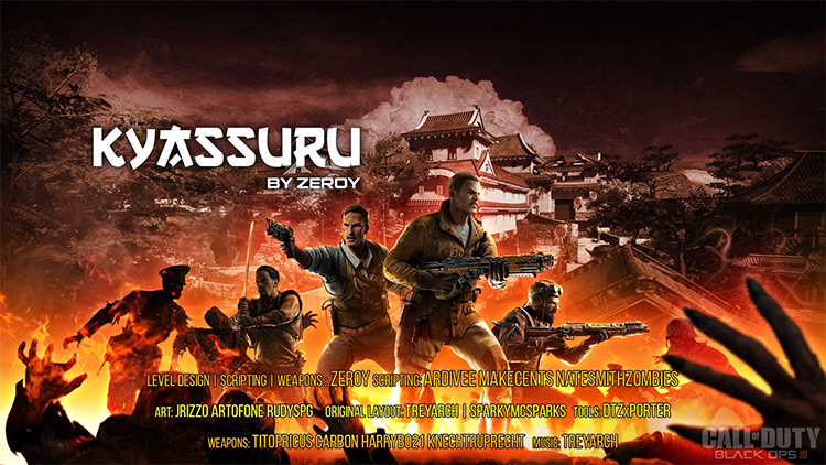 Kyassuru Call of Duty: Black Ops III mod
