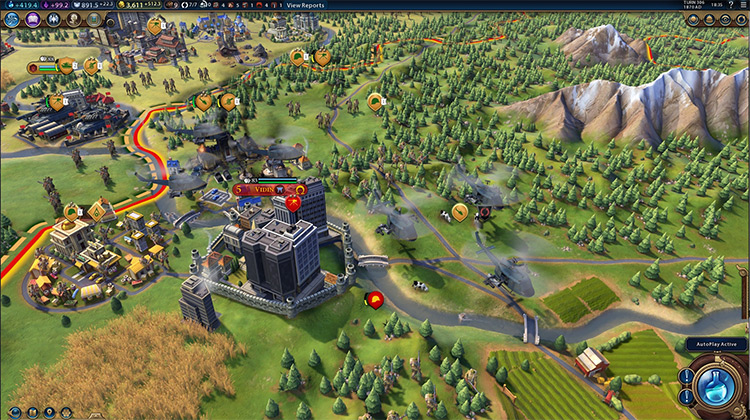 R.E.D. Modpack Civilization VI screenshot