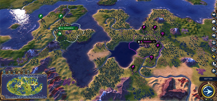 Got Lakes - Civ 6 map preview