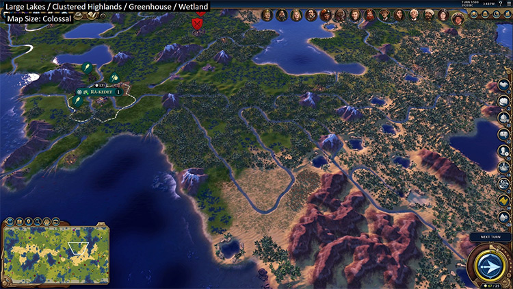 Got Lakes Civilization VI mod screenshot