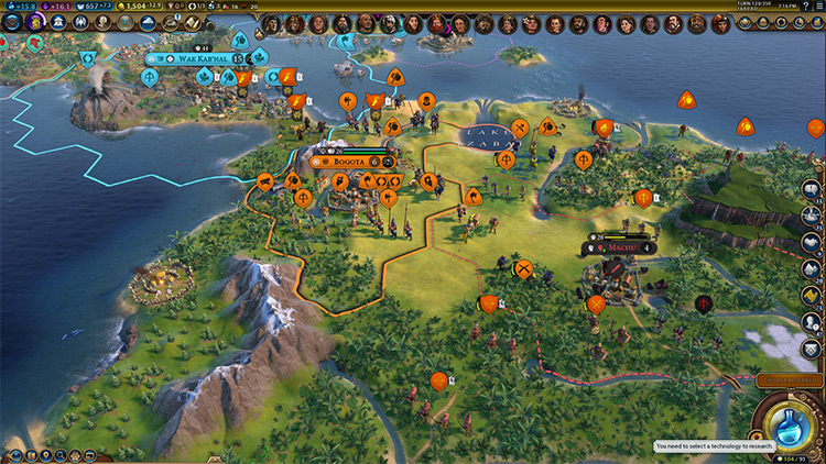Historical Spawn Dates Civilization VI mod