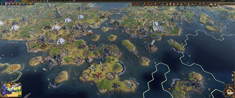 Sven's Europe Civilization VI mod