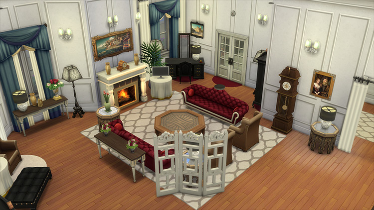 Marvelous Maisel Apartment Sims 4 mod