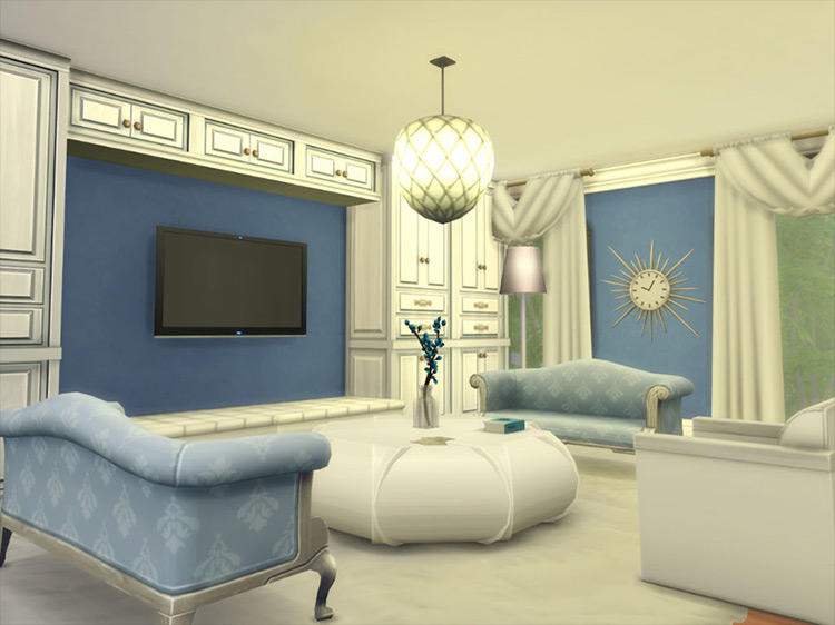 Carrie Bradshaw's Apartment Sims 4 mod
