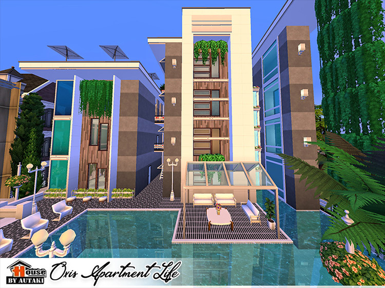Oxis Apartment Life mod for Sims 4