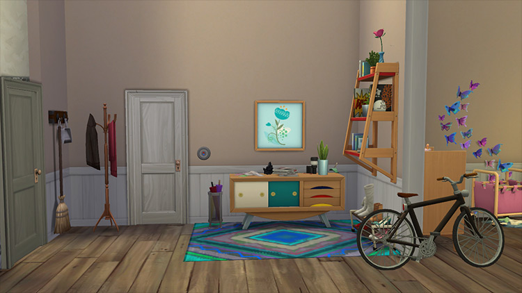 Tiny Living Apartment Sims 4 mod