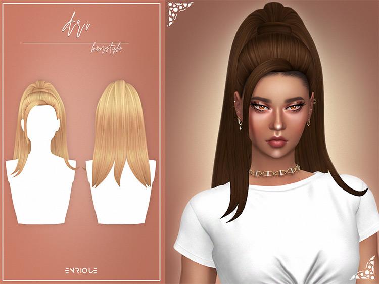 Ari Hairstyle Sims 4 CC