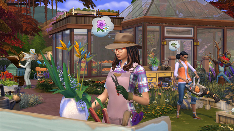 Sims 4 Seasons EP