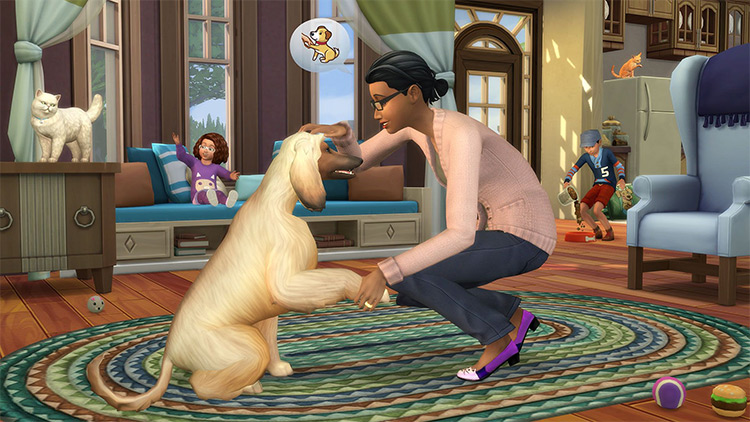 Sims 4 Cats & Dogs EP