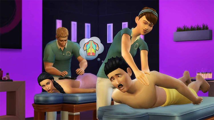 Spa Day Sims 4 GP