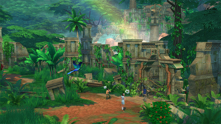 Jungle Adventure Sims 4 GP