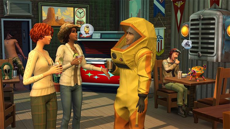 StrangerVille Sims 4 GP