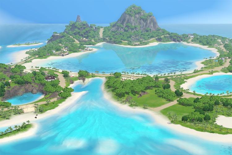 Sunlit Tides Sims 3