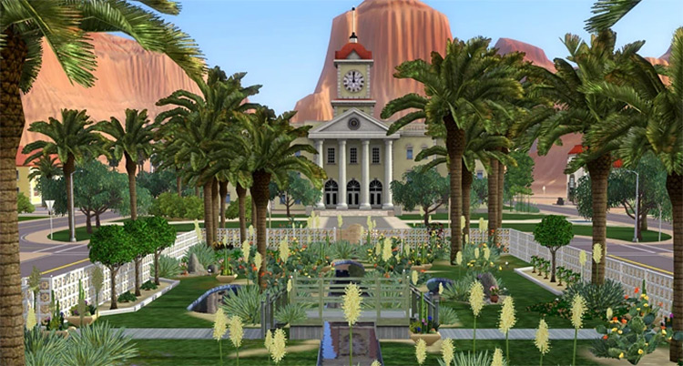 Lucky Palms in Sims 3